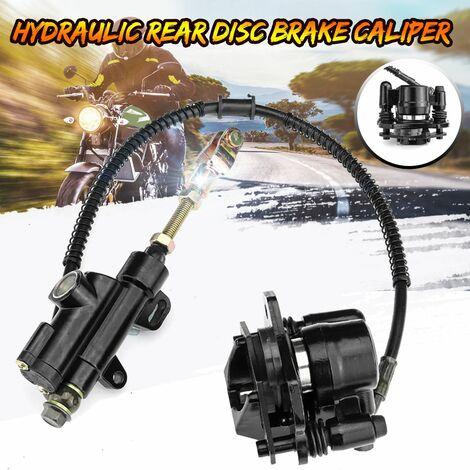 Hydraulic Rear Disc Brake Caliper System For 110cc 125cc PIT PRO Quad Dirt Bike ATV