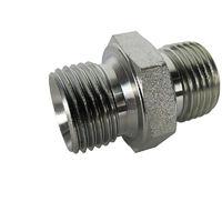 Hydraulic Steel Adaptor Fitting 1/2 x 5/8 Male/Male BSP
