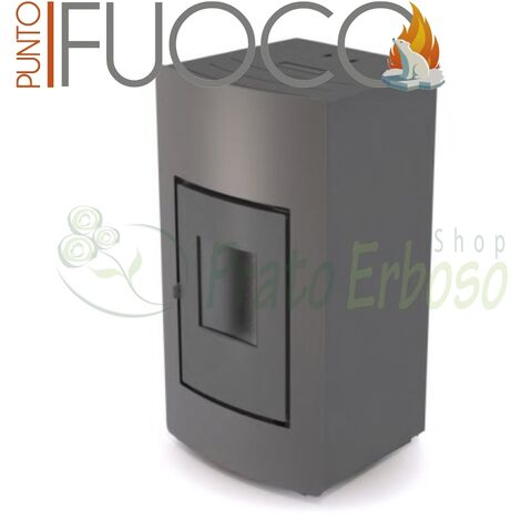 Hydro 24 - Estufa calefactora de pellets de 24 Kw