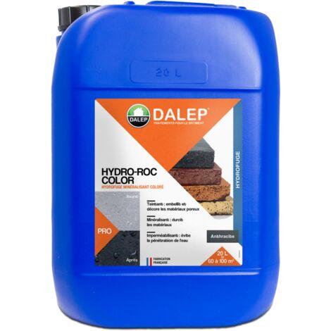 HYDRO-ROC COLOR ANTHRACITE - Hydrofuge minéralisant coloré 20L