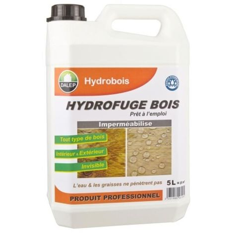 Hydrofuge bois 5 litres