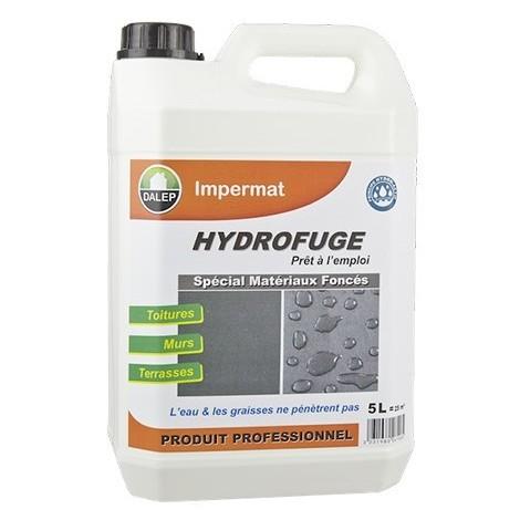Hydrofuge DALEP Spécial matériaux foncés IMPERMAT Bidon de 5 Litres - 230005