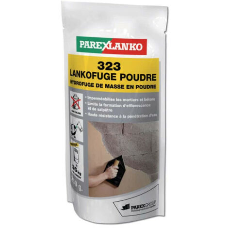 Hydrofuge de masse PAREXLANKO 323 Lankofuge poudre - 250g - L323DOSE250