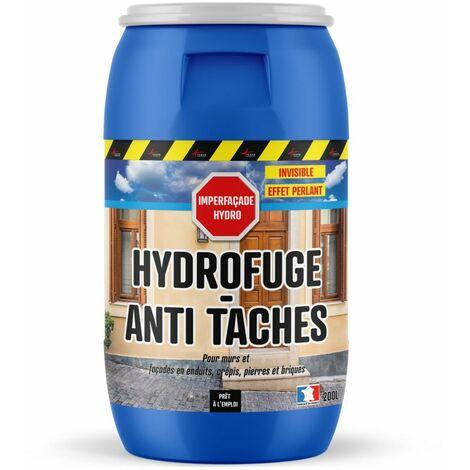 Hydrofuge Imperméabilisant Façade, mur, crépi, enduit - IMPERFACADE HYDRO