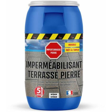 Hydrofuge imperméabilisant Terrasse Pierre naturelle IMPERTERRASSE PIERRE