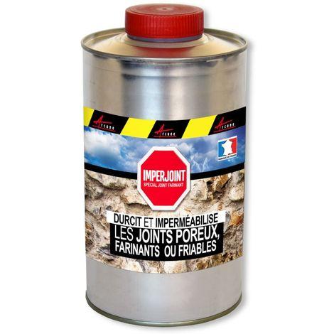 hydrofuge joint farinant et friable durcisseur imperméabilisant IMPERJOINT
