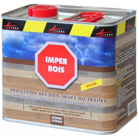 Hydrofuge Terrasse Bois - Imperméabilisant longue Durée - IMPER BOIS