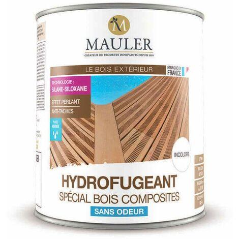 Hydrofugeant spécial bois composites sans odeur - 1 litre - MAULER