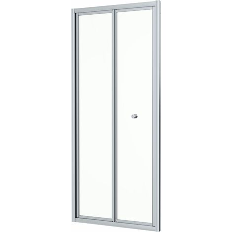 Hydrolux 760mm Bi-fold Shower Door - 4mm Glass