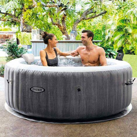 Hydromassage gonflable Intex 28440 Bubble Massage Spa Ronde 196x71