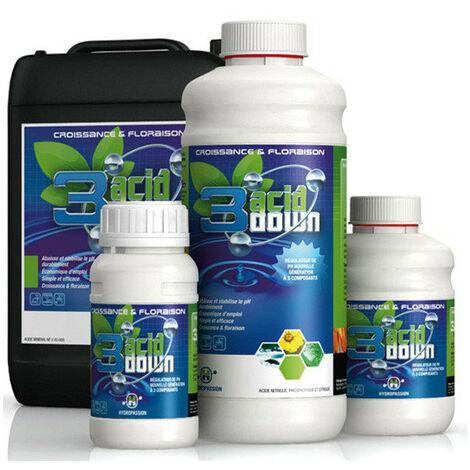 Hydropassion 3 Acid pH Down 1LTR , ph moins liquide , abaisse le ph