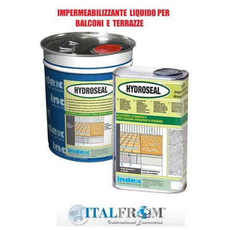 Hydroseal Impermeabilizzante per Superfici Piastrellate di Balconi e Terrazze - Italfrom