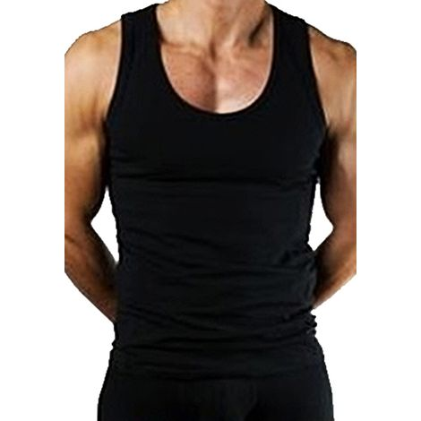 Hyfive - Sleeveless Gym Training T-Shirt - Men - Black - XL - Pack of 1