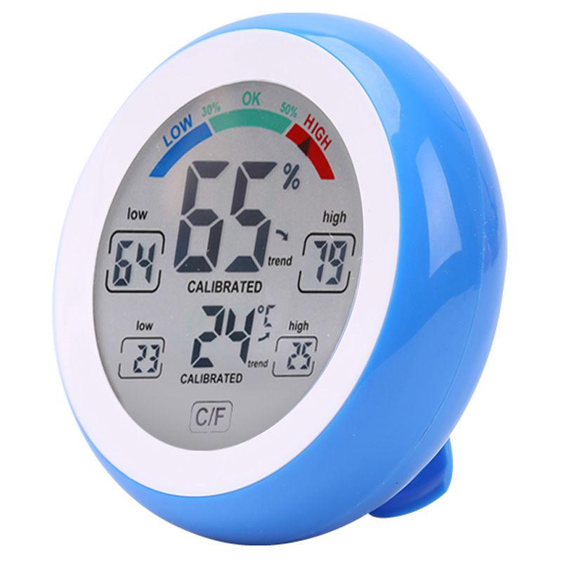 Image of Asupermall - Hygrometer Touch-Screen, Cj3305F Blau