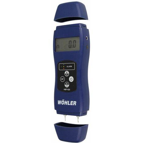 Hygromètre pour bois et matériaux de construction HBF 420