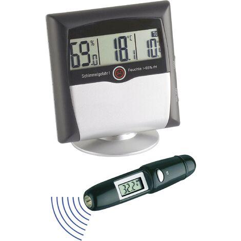 Hygromètre TFA Dostmann MS-10 MS-10 1 % HR 99 % HR set hygromètre + thermomètre infrarouge 2 pc(s) Q59854