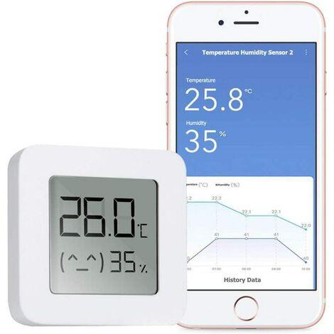 """main image of """"Hygromètre Thermomètre Bluetooth, Mini Thermomètre Digital Hygromètre Intérieur Numérique à Haute Précision, Moniteur de Température d'Humidité Bluetooth pour la Maison Bureau Cuisine"""""""