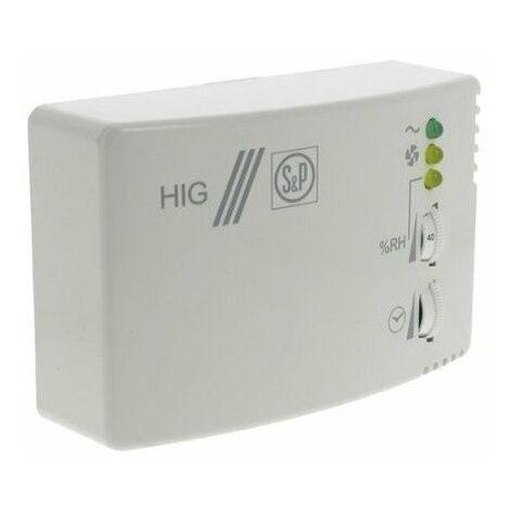 Hygrostat 2A REGLABLE HR 60 A 90% Unelvent HYGRO-2 704078
