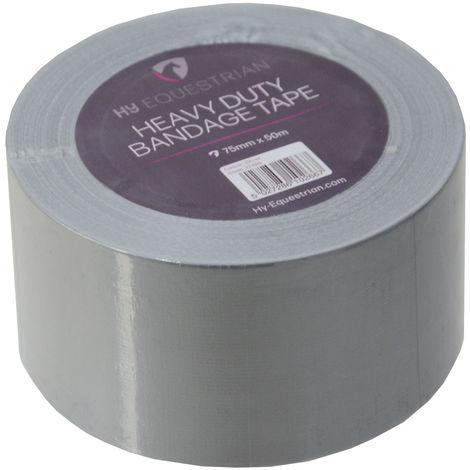 HyHEALTH Heavy Duty Bandage Tape (50m) (Silver)
