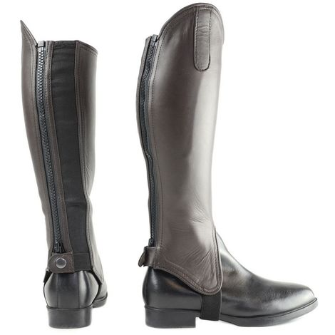 """main image of """"HyLAND Adults Leather Gaiters"""""""