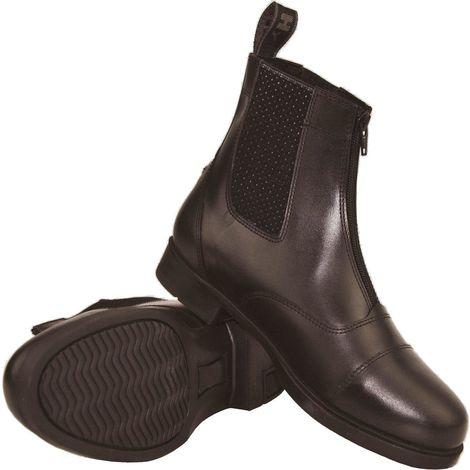 HyLAND Childrens/Kids Canterbury Zip Jodhpur Boots