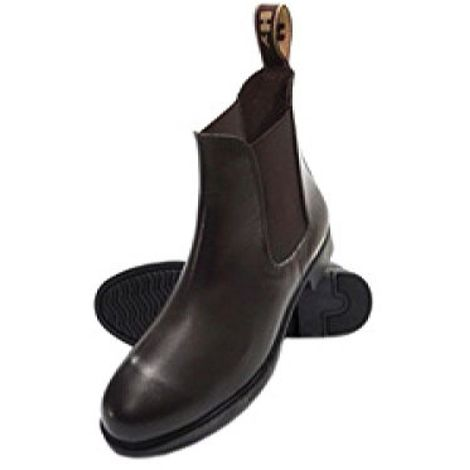 HyLAND Childrens/Kids Durham Leather Jodhpur Boots