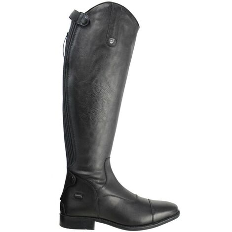 """main image of """"HyLAND Womens/Ladies Sorrento Field Long Riding Boots (3 UK Wide) (Black)"""""""
