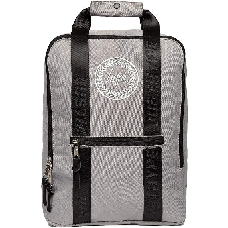 Image of Boxy Tape Backpack (One Size) (Grey) - Hype