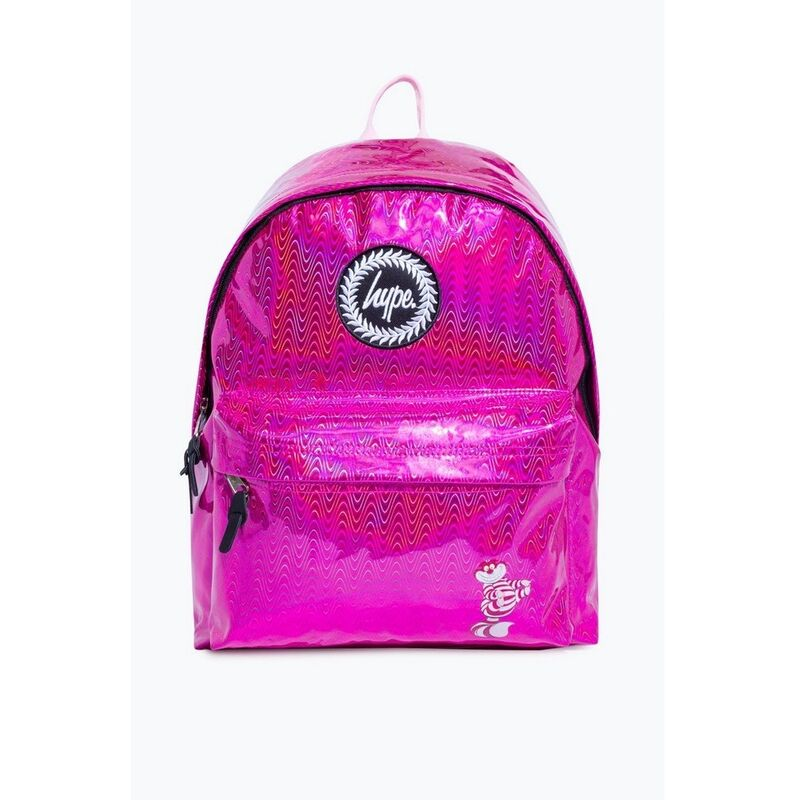 Image of Cheshire Waves Disney Backpack (One Size) (Pink) - Hype