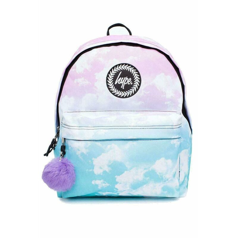 Image of Cloud Fade Backpack (One Size) (Pink/Blue) - Hype