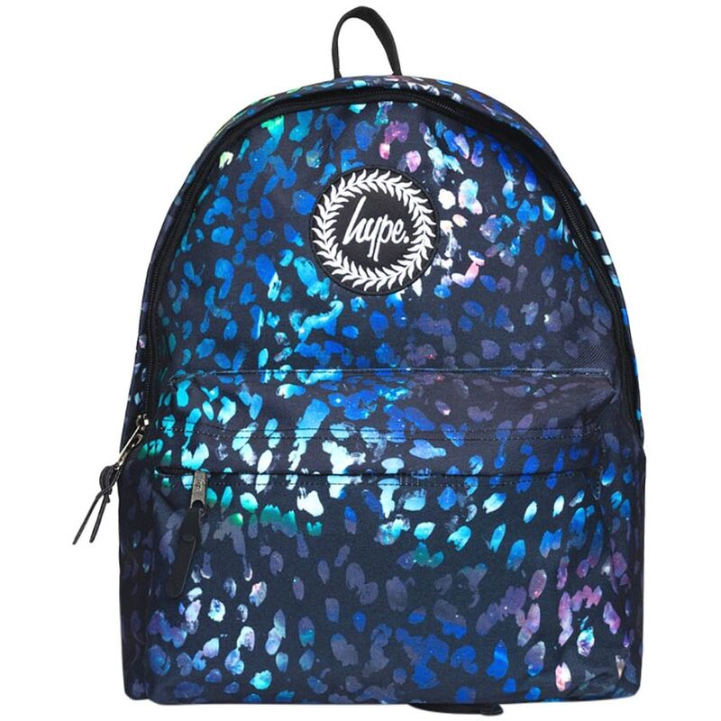 Image of Finger Paint Gradient Backpack (One Size) (Black/Blue) - Hype