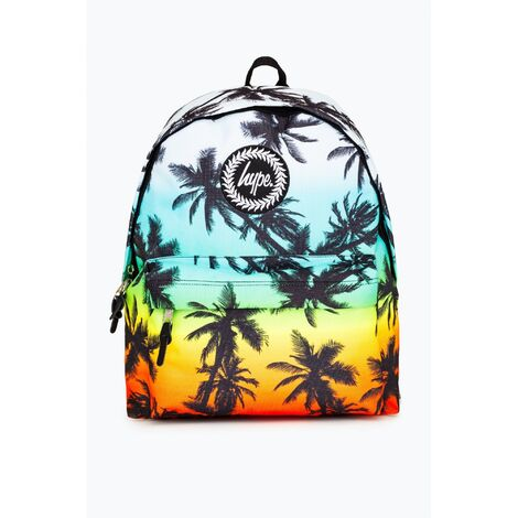 Hype Palm Tree Backpack (One Size) (Multicoloured)