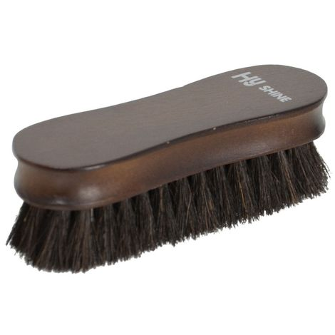 HySHINE Deluxe Wooden Face Brush
