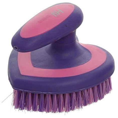 HySHINE Heart Brush (One Size) (Pink/Purple)
