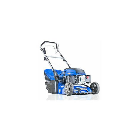 "Hyundai 17""/43cm 139cc Electric-Start Self-Propelled Petrol Roller Lawnmower   HYM430SPER"