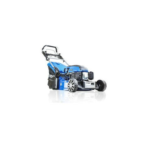 "Hyundai 19"" 48cm / 480mm Self Propelled Electric Start 139cc Petrol Roller Lawnmower 