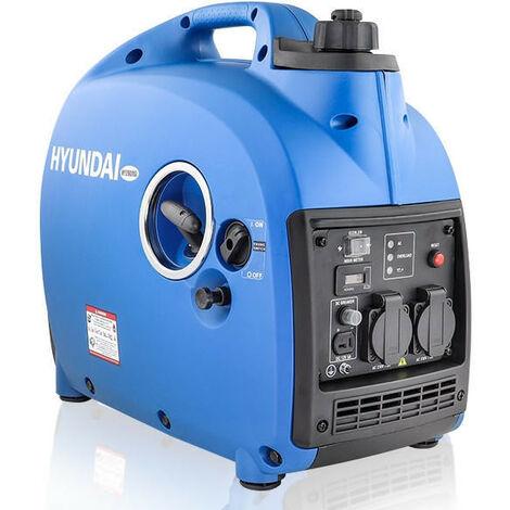 Hyundai 2000w Portable Petrol Inverter Generator   HY2000Si