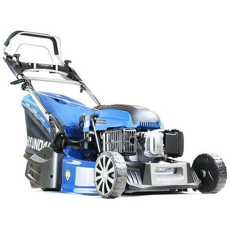 "Hyundai 21""/53cm 196cc Electric -Start Self-Propelled Petrol Roller Lawnmower   HYM530SPER"