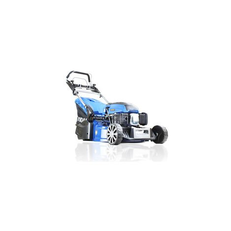 "main image of ""Hyundai 21""/53cm 196cc Self-Propelled Petrol Roller Lawnmower | HYM530SPR"""
