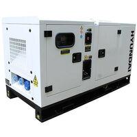 Hyundai 22kVA Diesel Generator Single Phase DHY18KSEm