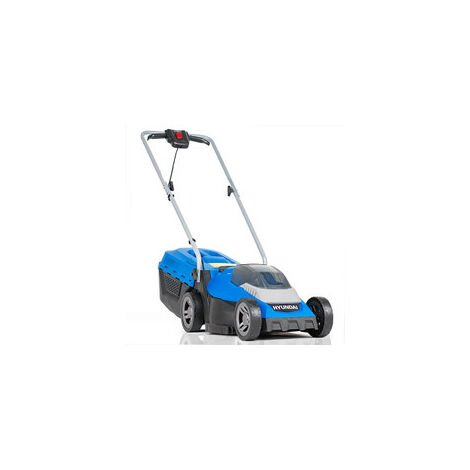 Hyundai 33cm Cordless 40v Lithium-Ion Battery Roller Lawnmower with Battery and Charger   HYM40LI330P