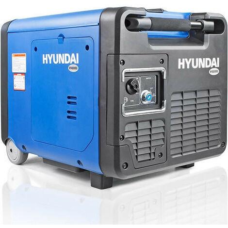 "main image of ""Hyundai 4000W Petrol 4.0kW / 5kVA Portable Inverter Generator   HY4500SEI"""