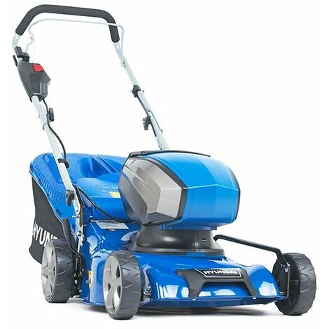 """main image of """"Hyundai 40V Lithium-Ion Cordless Battery Powered Lawn Mower 42cm Cutting Width With Battery and Charger 
