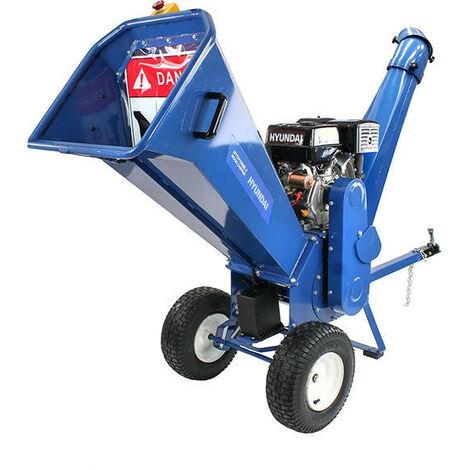Hyundai 420cc Petrol 4-Stroke Wood Chipper/Shredder/Mulcher   HYCH1500E-2