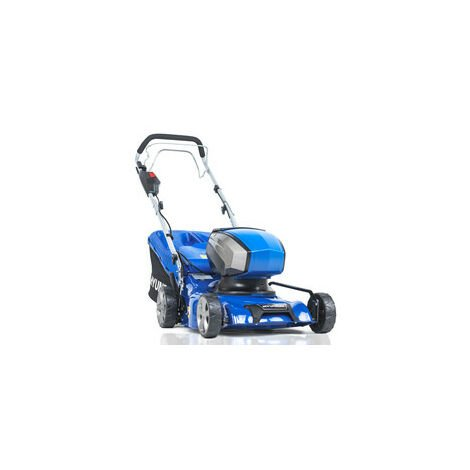 """main image of """"Hyundai 42cm Cordless 40v Lithium-Ion Battery Self-Propelled Lawnmower with Battery and Charger 