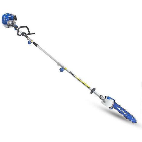 Hyundai 52cc Long Reach Petrol Pole Saw/Pruner/Chainsaw | HYPS5200X