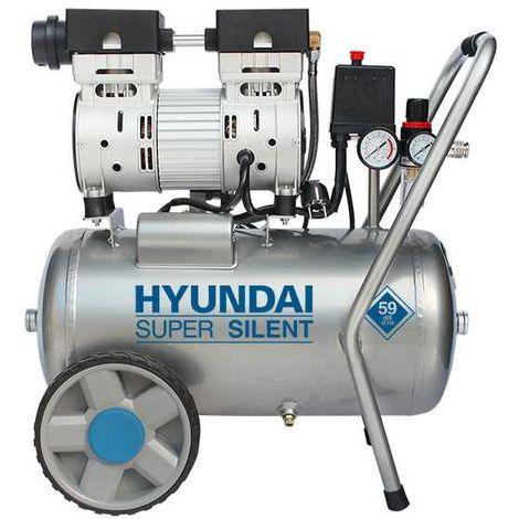 """main image of """"Hyundai 55752 Compresor silencioso sin aceite - 8 bar - 24L"""""""