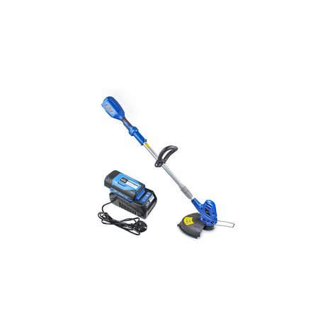 Hyundai 60v Lithium-ion Cordless Battery Grass Trimmer With Battery and Charger | HYTR60LI