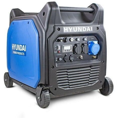 Hyundai 6600W/6.6kW Remote Electric Start Petrol Portable Inverter Generator | HY6500SEi