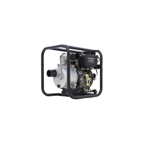 "Hyundai 80mm 3"" Electric Start Diesel Water Pump DHY80E"